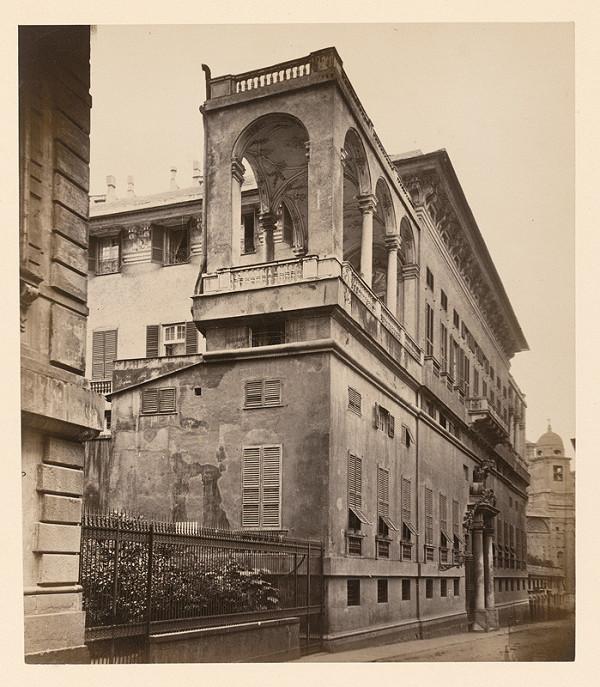 Neznámy autor – Loggia na paláci