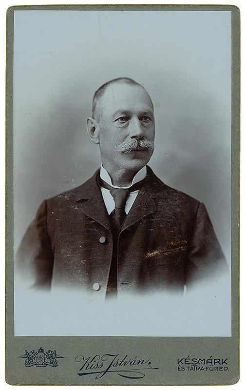 István Kiss – Portrét muža