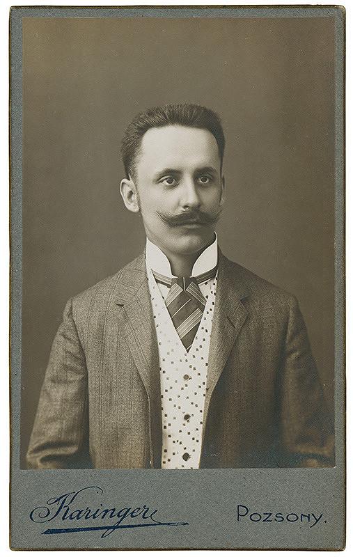 Ferenz Karinger – Portrét muža