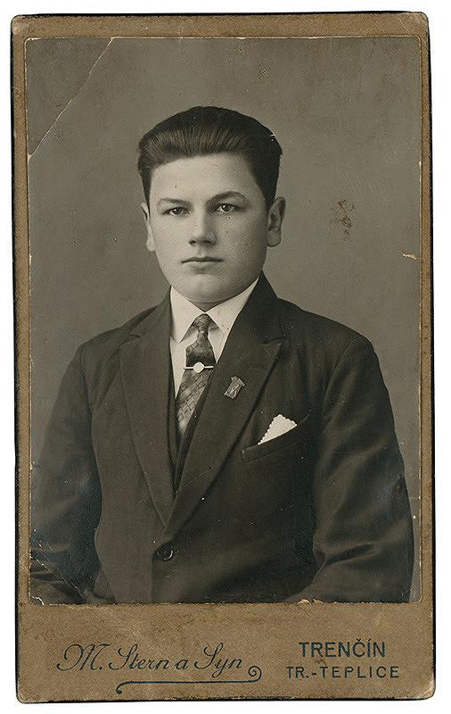 Jozef Stern – Portrét mladého muža