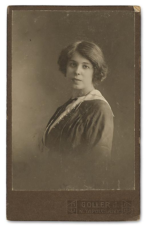 Ján Goller – Portrét ženy