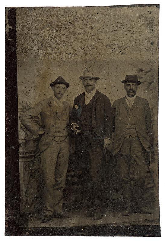 Neznámy autor – Skupinový portrét mužov