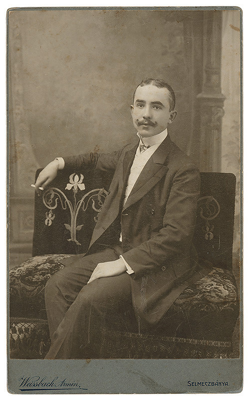Armin Weissbach - Portrét muža