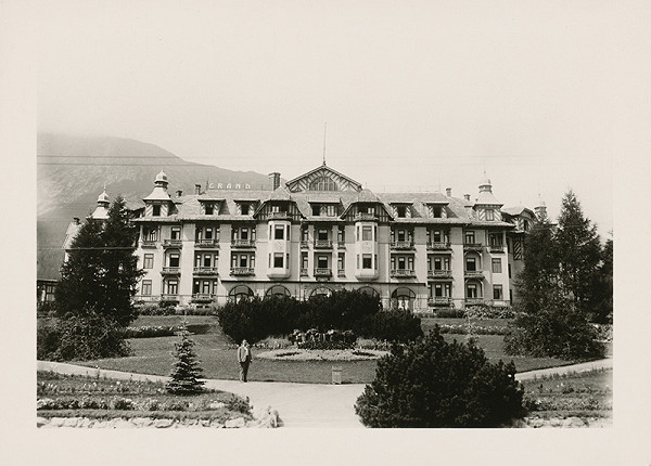 Ateliér Bruner - Dvořák - Grand Hotel v Starom Smokovci