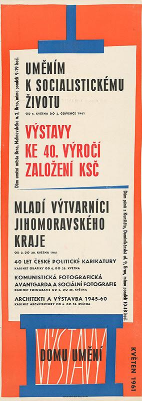 Moravský autor – Výstavy - Dom umenia