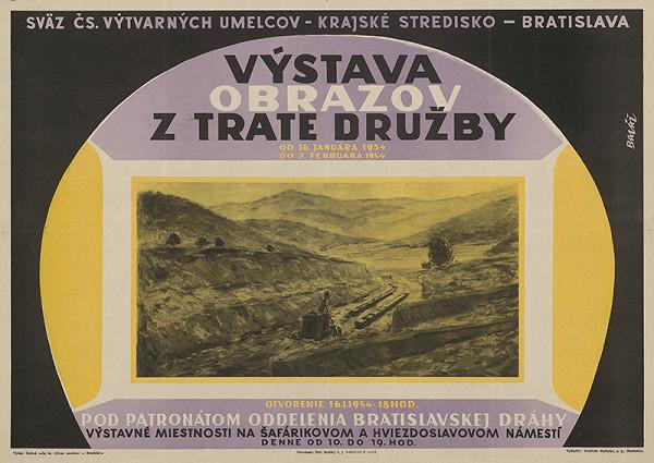 Jozef Baláž – Výstava obrazov z Trate družby