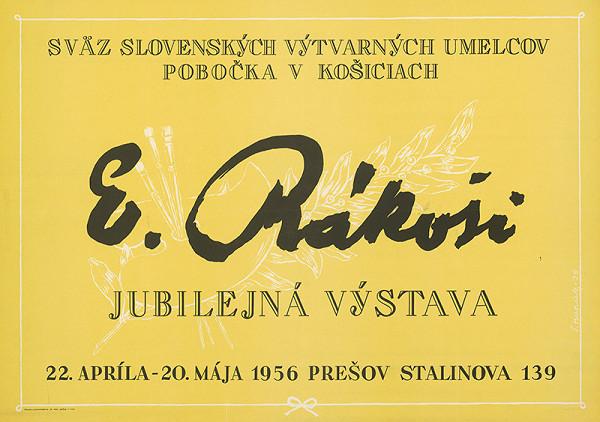 Štefan Hapák – Jubilejná výstava-E.Rákoši