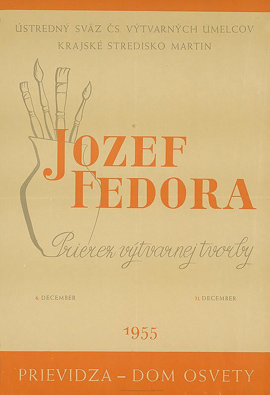 Slovenský autor - Prierez výtvarnej tvorby Jozef Fedora