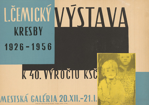 Slovenský autor - Kresby L.Čemický k 40.výročiu KSČ