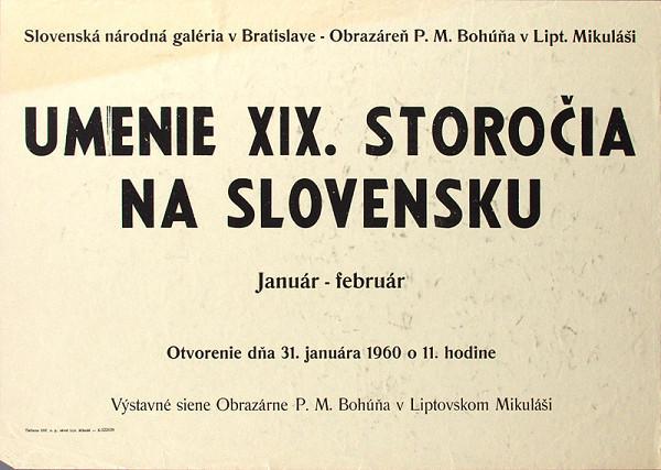 Slovenský autor – Umenie XIX.storočia na Slovensku
