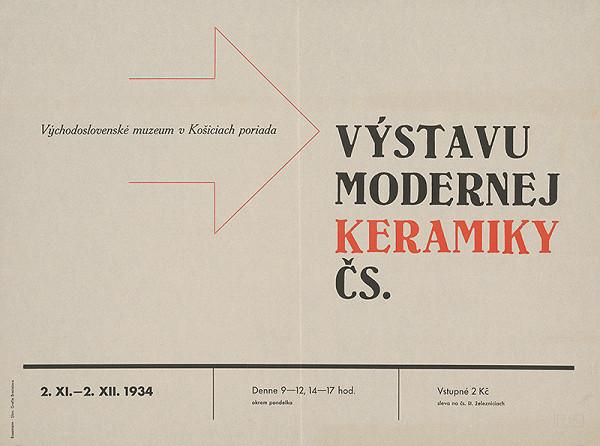 Zdeněk Rossmann – Modern Ceramics Exhibition
