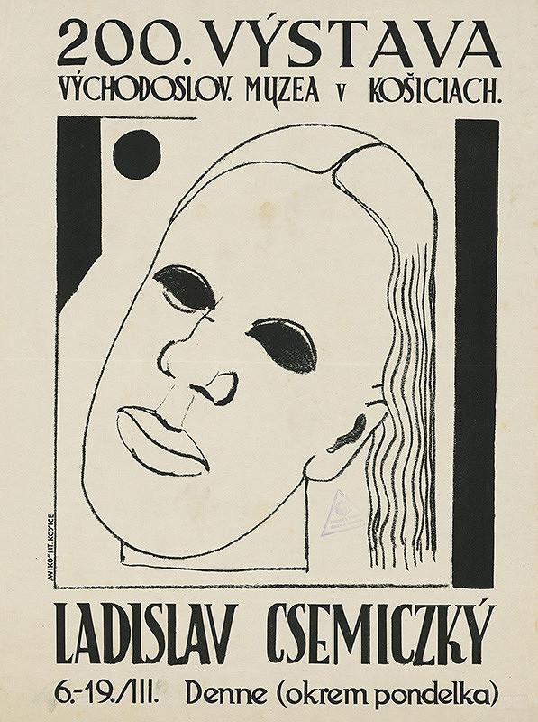 Ladislav Čemický – Výstava - Ladislav Csemiczký