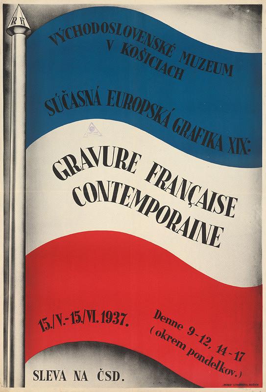 Neznámy autor - Súčasná európska grafika XIX: Francúzsko. Východoslovenské muzeum v Košiciach