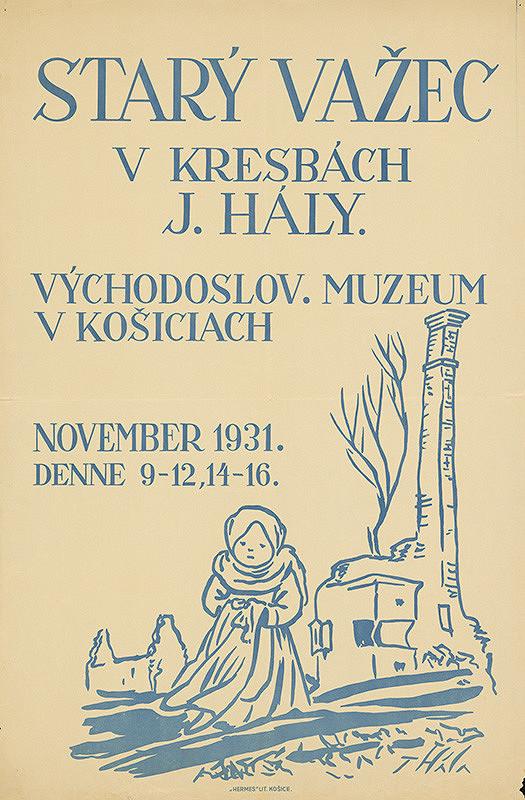 Jan Hála – Starý Važec v kresbách Jana Hály