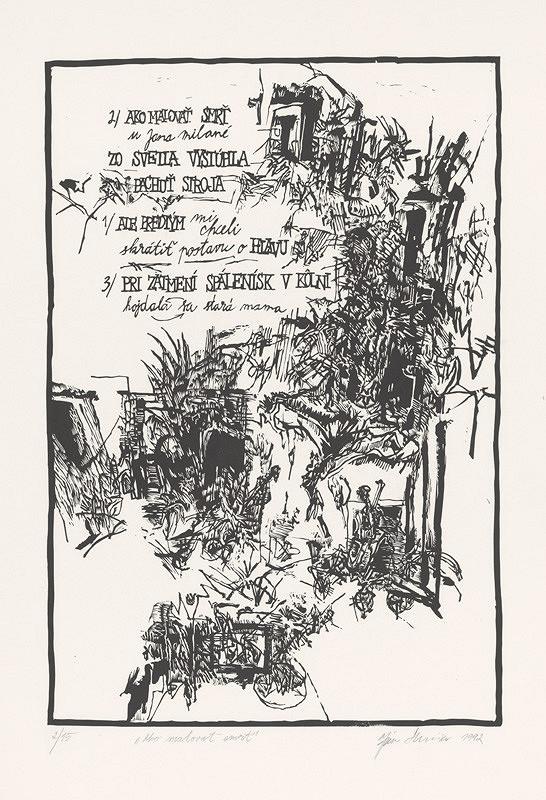 Ján Skrisa – Ako maľovať smrť