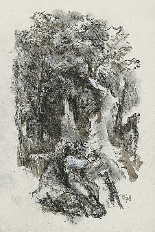 Jaroslav Vodrážka – Spiaci lovec