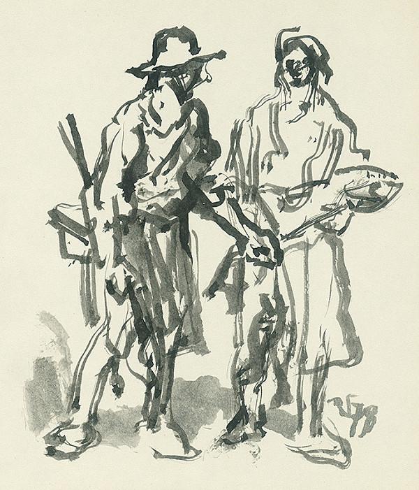 Jaroslav Vodrážka – Dve figúry