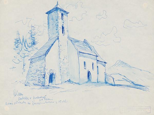 Josef Olexa – Kostol v Gerlachove