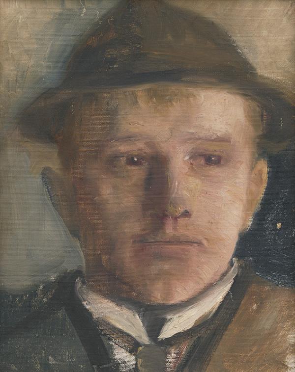 Ladislav Mednyánszky – Portrét muža
