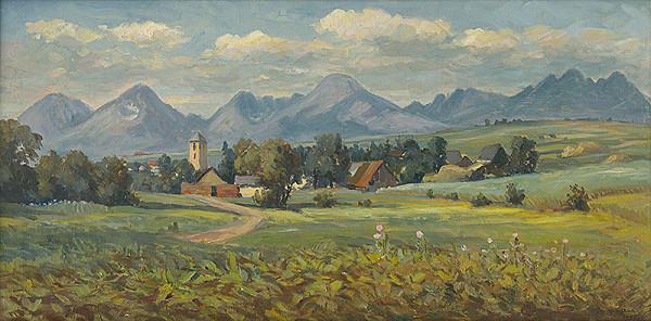 Jozef Majkut – Vysoké Tatry od Šváboviec