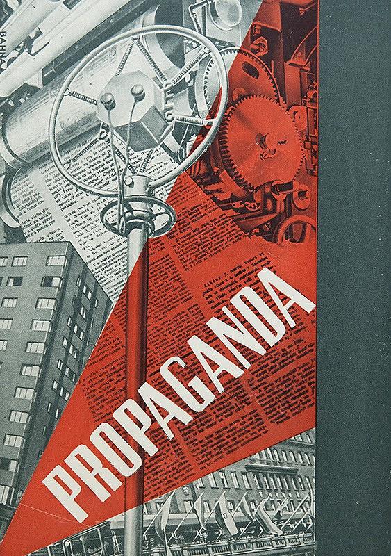Vlado Bahna – Návrh obálky pre knihu: Josef Goebbels: Propaganda