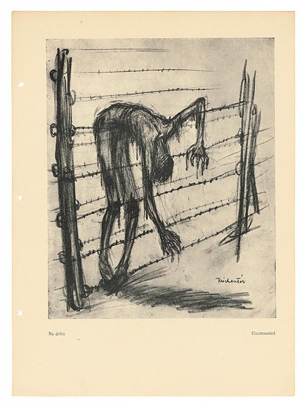 František Reichentál – Kresby z albumu Arbeit macht frei - Na drôte