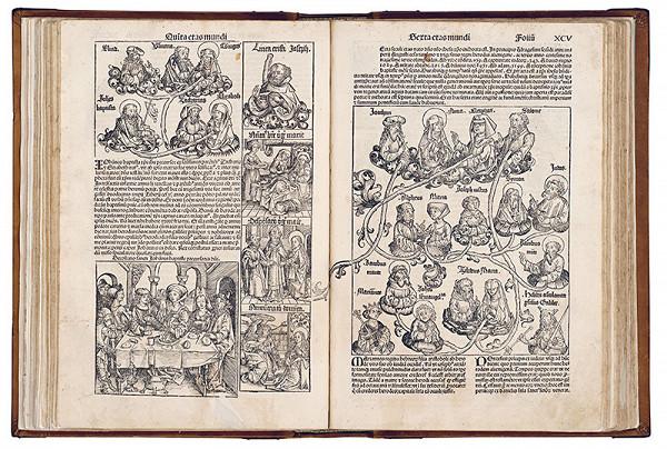 Michael Wolgemut, Wilhelm Pleydenwurf – Rodostrom sv. Anny (Kristovo príbuzenstvo, S. XCV)