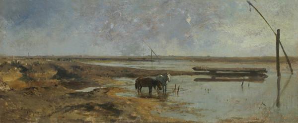 August von Pettenkofen - Pusta
