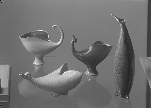 Tibor Honty – Štyri zvieracie obejkty (keramické plastiky od J.Horovej)
