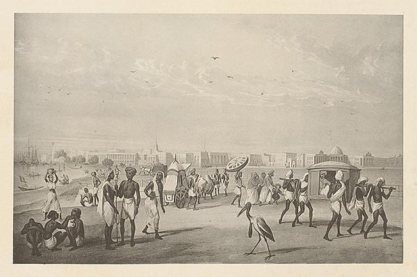 Emanuel Andrássy – Kalkata (Motív z cesty po východnej Indii XII.)