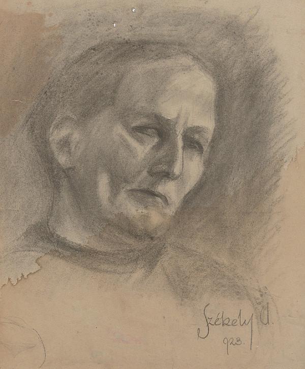 Ivan Anton Székely – Podobizeň staršej ženy