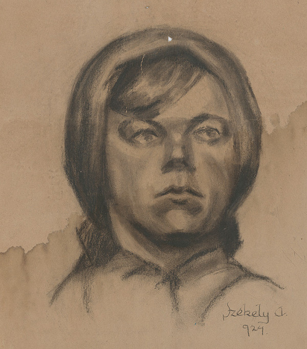 Ivan Anton Székely – Podobizeň ženy so šatkou na hlave