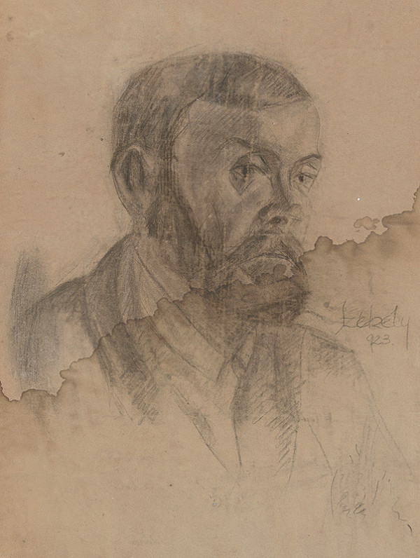 Ivan Anton Székely – Podobizeň muža s bradou