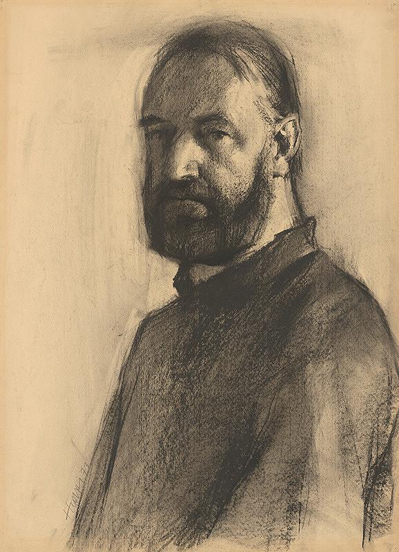 Július Hegyesy – Autoportrét