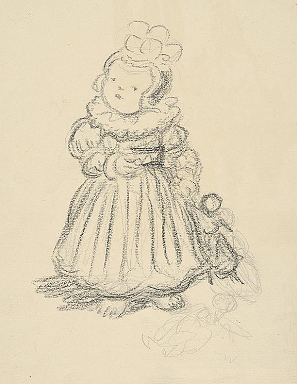 Jan Hála – Dievčatko s bábikou