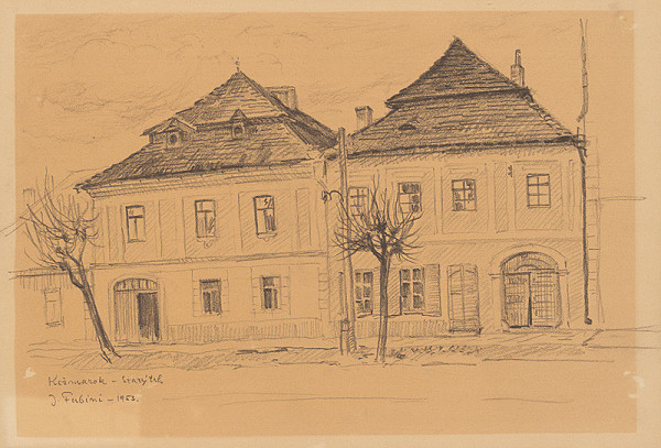 Jozef Fabini – Starý trh v Kežmarku
