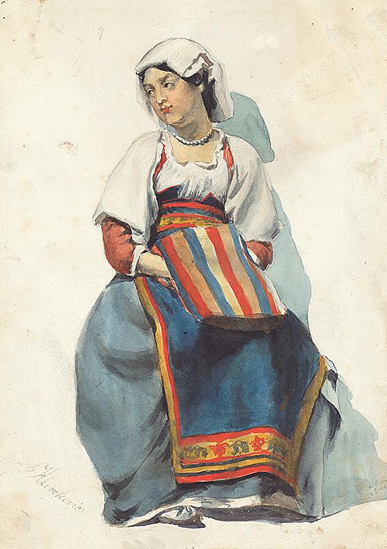 Vojtech Klimkovič – Žena z Dalmácie II.