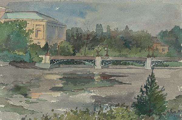 Július Török – Okraj mesta s mostom