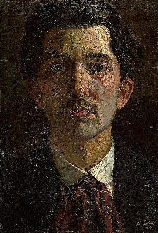 Emil Alexay-Olexák - Vlastná podobizeň