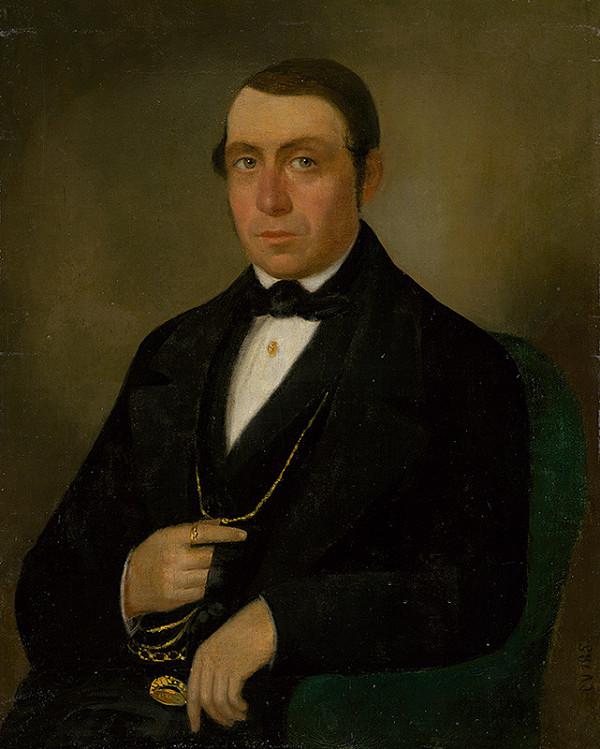 Východoslovenský autor z 2. polovice 19. storočia - Podobizeň muža