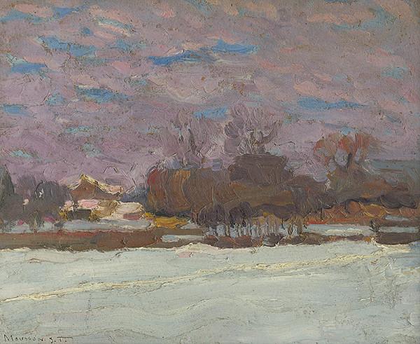 Teodor Jozef Mousson – Umelcova záhrada v zime