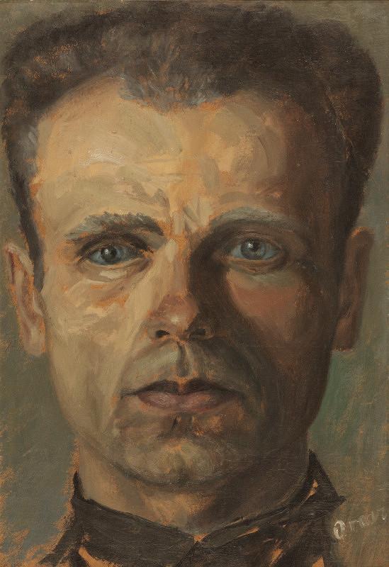 Imrich Oravec – Autoportrét