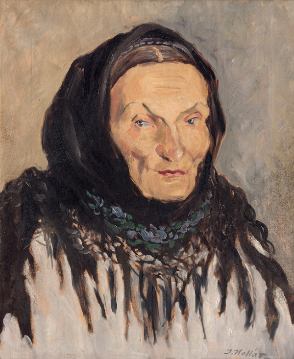 Jozef Kollár - Portrét stareny