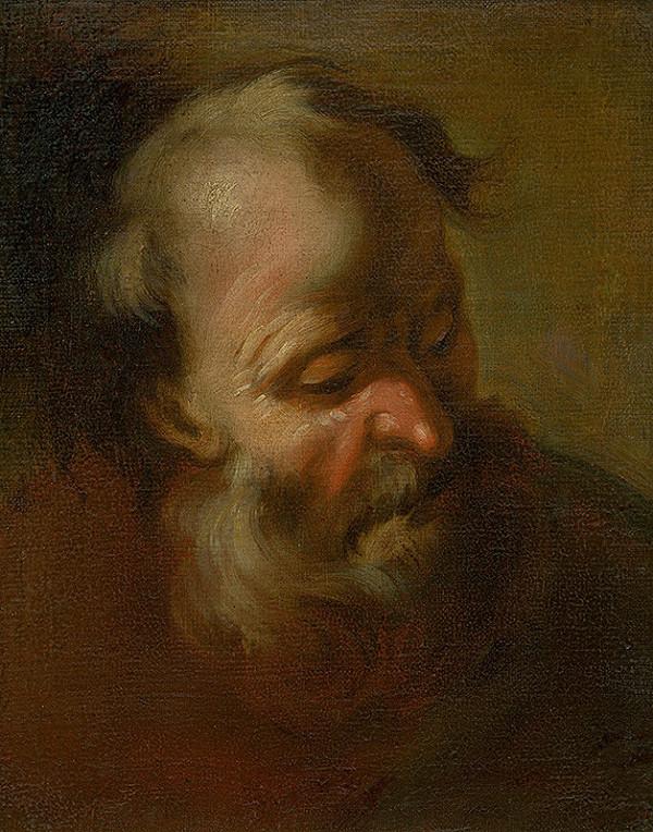 Stredoeurópsky maliar z konca 19. storočia - Hlava apoštola