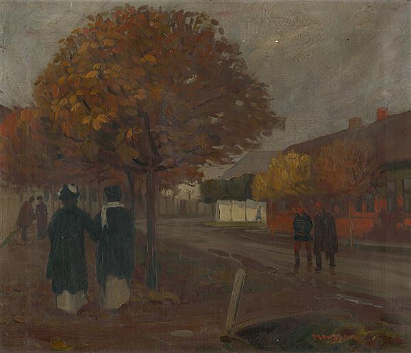 Teodor Jozef Mousson – Na prechádzke