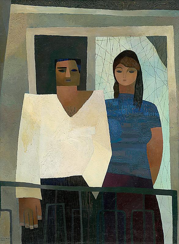 Alexander Eckerdt – Na balkóne