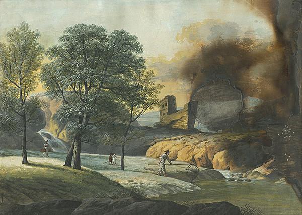 Ján Jakub Müller – Krajina so zrúcaninami hradu