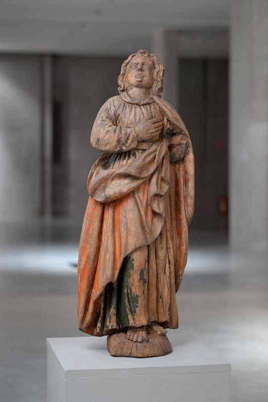 Východoslovenský sochár z 1. polovice 18. storočia - Vyznávajúca