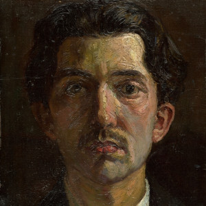 Emil Alexay-Olexák, autoportrét