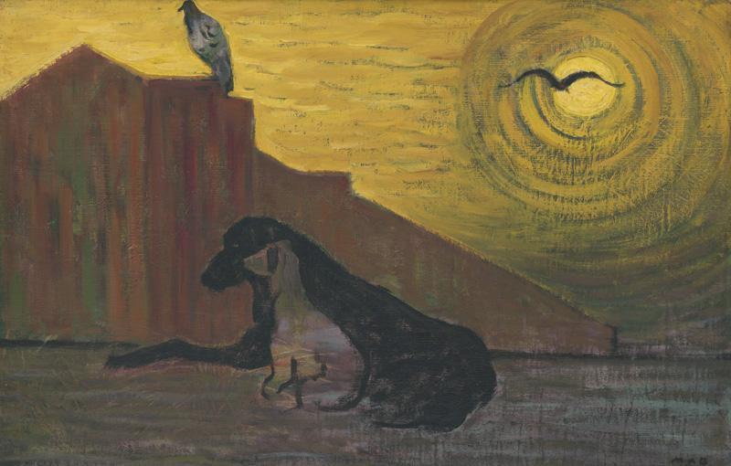 Miloš Alexander Bazovský - Ticho, 1952–1953, Galéria Miloša Alexandra Bazovského, GBT